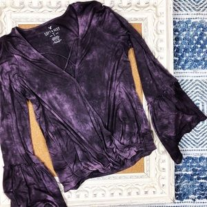 American Eagle   Soft and Sexy V Neck Bell Sleeve